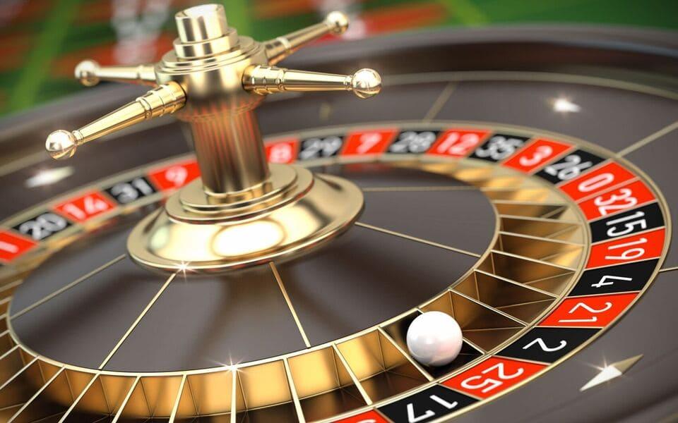 Roulette på casino